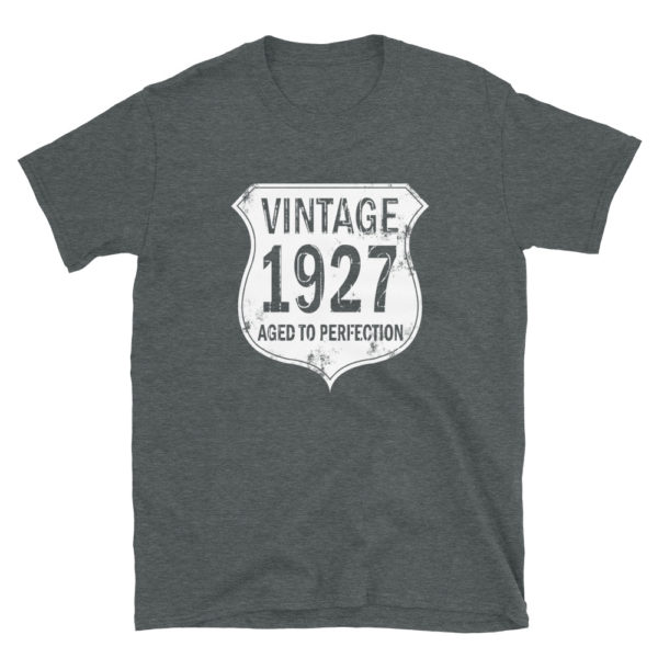 1927 Aged to Perfection Men's/Unisex T-Shirt