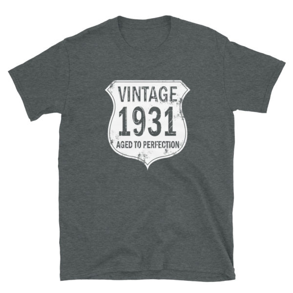 1931 Aged to Perfection Men's/Unisex T-Shirt