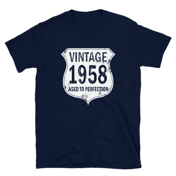 1958 Aged to Perfection Men's/Unisex T-Shirt
