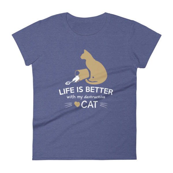 Cat Lover Women's Fashion Fit T-shirt