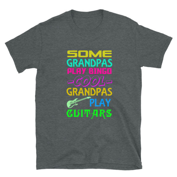 Cool Grandpa's Play Guitar T-Shirt