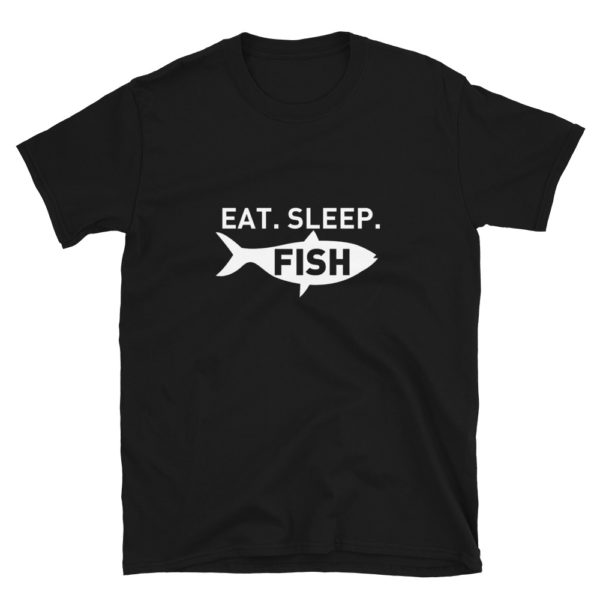 Eat Sleep Fish Men's/Unisex T-Shirt