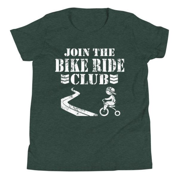 Join the Bike Ride Club Kid's/Youth Premium Tee
