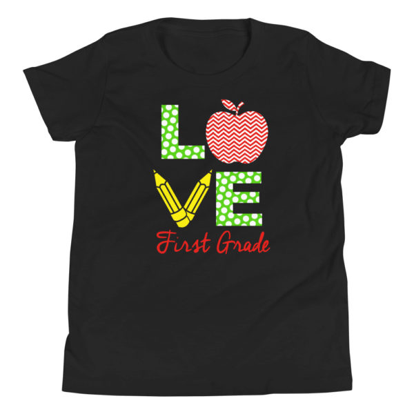 Love First Grade Premium T-Shirt for Grade 1