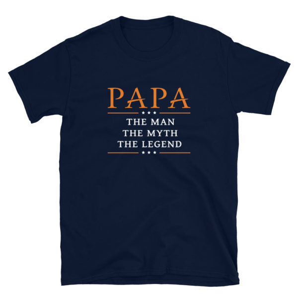 PAPA Dad's/Grandpa's Softstyle T-Shirt