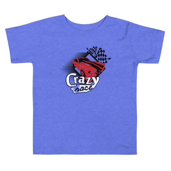 Toddler's Crazy Race Premium Tee