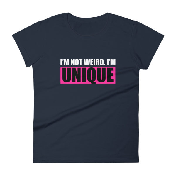 Weird Mom's Fashion Fit T-shirt