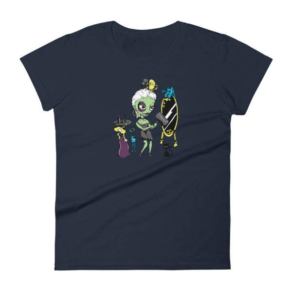 Zombie Women's Fashion Fit T-shirt