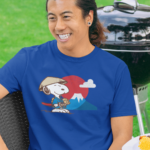 Snoopy Japan Men's/Unisex Premium T-shirt
